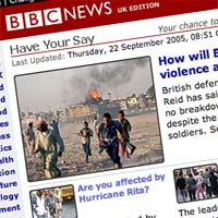 BBC revamps 'Have your say'