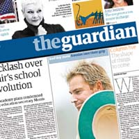 The Guardian's new Berliner format