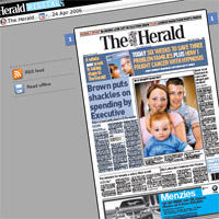 The Herald Digital goes live
