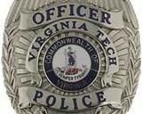 Virginia Tech Police Officer Badge